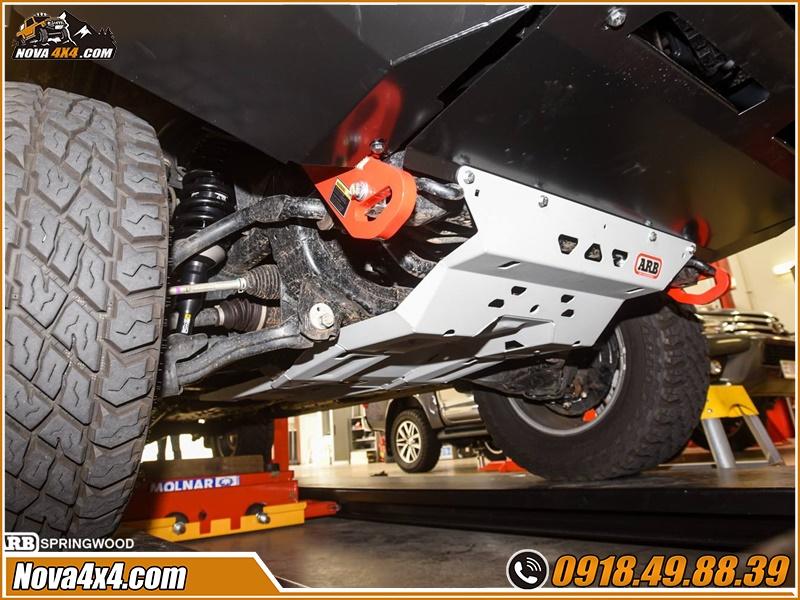 Giáp gầm xe bán tải giá hấp dẫn tại TPHCM Workshop Nova4x4