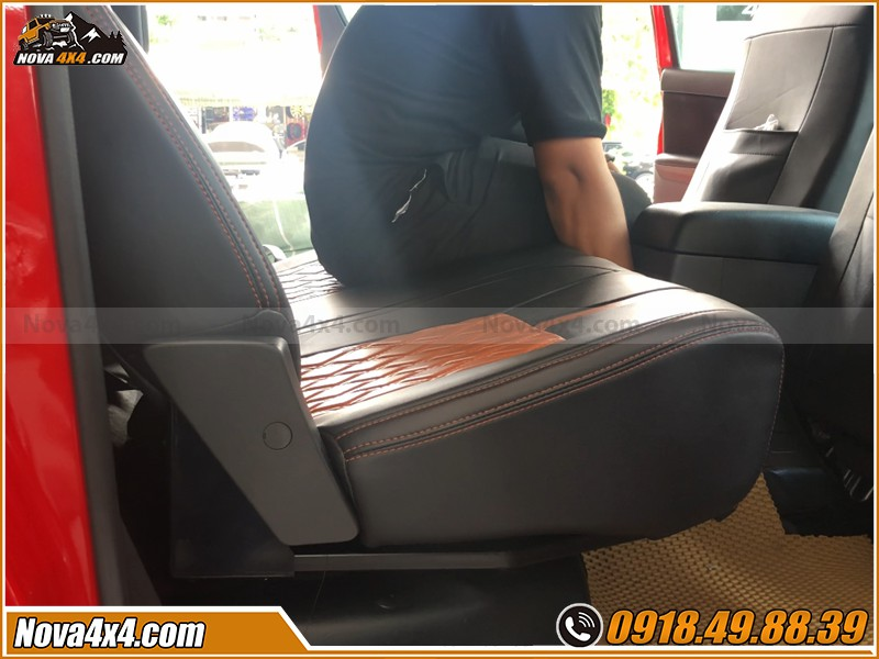 Lời khuyên độ ghế chỉnh cơ cho xe bán tải ở HCM