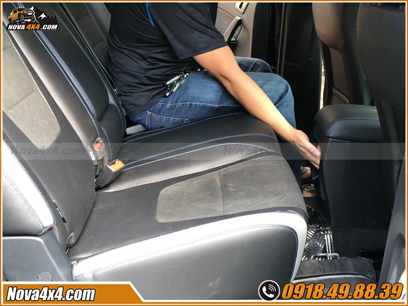Địa chỉ độ ghế chỉnh cơ cho xe bán tải tại HCM