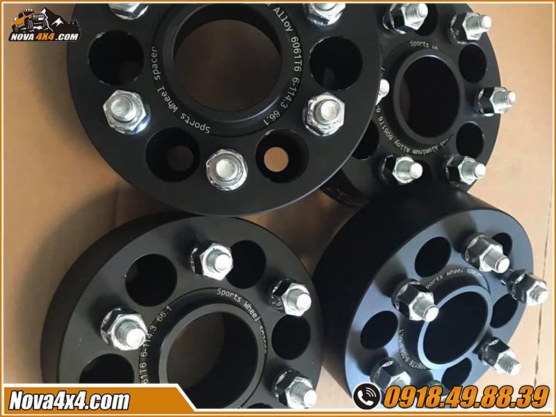 Tư vấn mua Độ Wheel Spacers Xe bán tải tại HCM