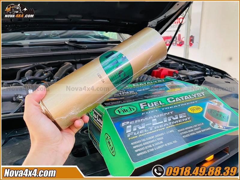 Tính Năng Ưu Việt khi Trang Bị Phụ Kiện  Xúc Tác Fitch cho xe bán tải Colorado Dmax Navara Ford Ranger Triton Hilux BT50